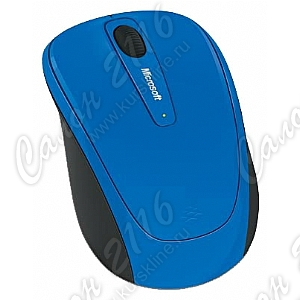 Мышь беспроводная Microsoft Wireless Mobile Mouse 3500 (RTL) USB Mac/Win 3btn+Roll Cobalt Blue <GMF-00202>