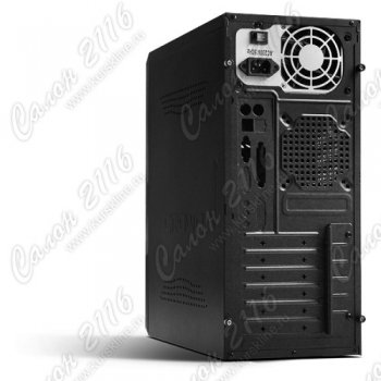 Корпус CROWN CMC-159 black/red ATX 400W