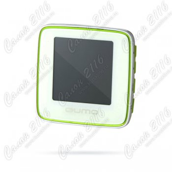 Плеер MP3 /MP4 Qumo Boxon sport - 4Gb white/green