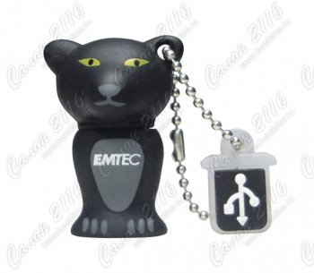 Накопитель USB Emtec <EKMMD4GM313> Panther USB 2.0 Flash Drive 4Gb