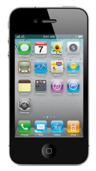 Смартфон Телефон Apple iPhone 4 8GB Чёрный MD128RR/A