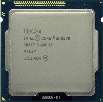 Процессор Intel Core i5-3570 3.4 ГГц/SVGA/1+6Мб/5 ГТ/с LGA1155 Ivy Bridge