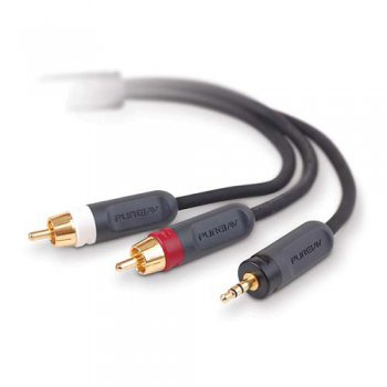 Кабель Belkin AUDIO Y-SPLITTER CABLE 3.5mmSTEREO/2xRCA; 3M AD20600qn3M