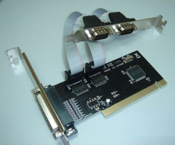 Контроллер PCI COM/LPT (2+1)port WCH353 bulk