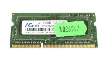 *Память DDR-III SODIMM 1Gb (for NoteBook)