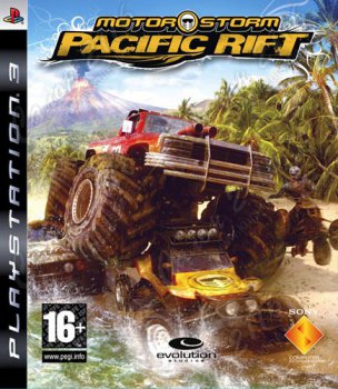 Игра для Sony PlayStation MotorStorm Pacific Rift