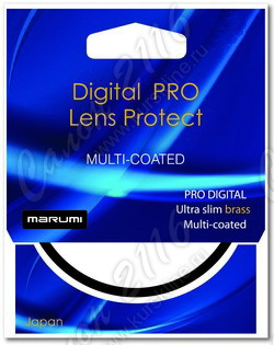 Светофильтр защитный Marumi Digital PRO LENS PROTECT Brass 77mm