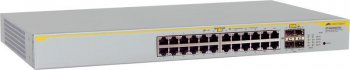 Коммутатор Allied Telesyn 8000GS/24 L2 switch24-10/100/1000Base-T +4*SFP