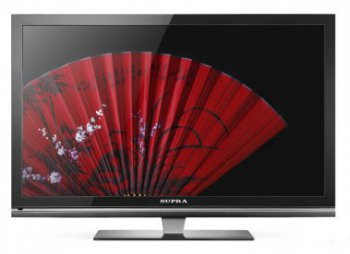 "Телевизор-LCD 31.5"" Supra S-LC3285FL Grey Full HD Rus"