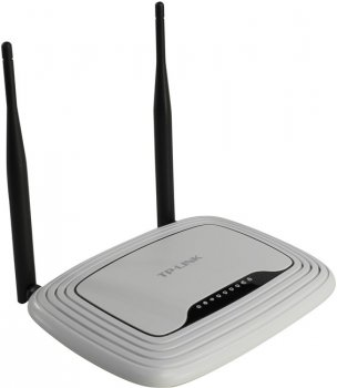 Маршрутизатор TP-LINK <TL-WR841N> Wireless N Router (4UTP 10/100Mbps, 1WAN, 802.11b/g/n, 300Mbps)