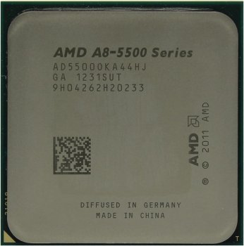 Процессор AMD A8-5500 (AD5500O) 3.2 ГГц/4core/SVGA RADEON HD 7560D/4 Мб/65 Вт/5 ГТ/с Socket FM2
