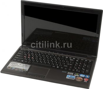 "Ноутбук MSI Game-Series GE620DX-860RU i3 2310M/4Gb/500Gb/DVDRW/GF635M 2Gb/15.6""/HD/WiFi/BT/W7HB64/Ca"