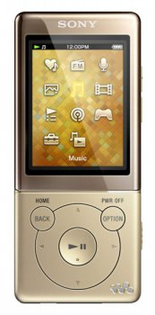 Плеер MP3 Sony NWZE473N.EE 4Gb gold