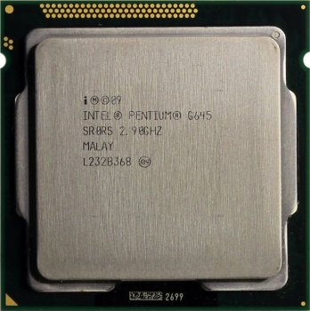 Процессор Intel Pentium G645 2.9 ГГц/2core/SVGA HD Graphics/0.5+ 3Мб/65 Вт/5 ГТ/с LGA1155