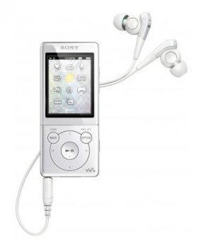 Плеер MP3 Sony NWZ-E573W 4Gb white