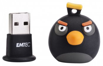 Накопитель USB Emtec 8Gb EKMMD8GA106 Black Bird