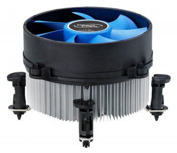 Вентилятор DeepCool Theta 10 Soc-1155/1156 Al+Cu Hydro 2500RPM Push-pin 95W