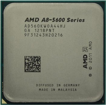 Процессор AMD A8-5600K (AD560KW) 3.6 ГГц/4core/SVGA RADEON HD 7560D/ 4 Мб/100 Вт/5 ГТ/с Socket FM2