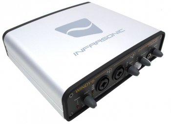 Звуковая карта Infrasonic WINDY6 (RTL) Analog 4in/4out, S/PDIF in/out, MIDI in/out, 24Bit/192kHz, IEEE1394