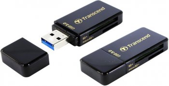 Картридер Transcend < TS-RDF5K> USB3.0 SDXC / microSDXC Card Reader / Writer