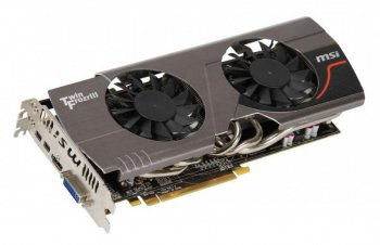 Видеокарта 2048 Мб <PCI-E> MSI R7870 TWIN FROZR 2GD5 <HD7870, GDDR5, 256 bit, HDCP, VGA, DVI, HDMI, Retail>