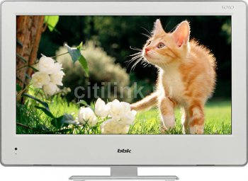 "Телевизор-LCD 22"" BBK LED2273FW Solo White FULL HD USB MediaPlayer (RUS) DVD"