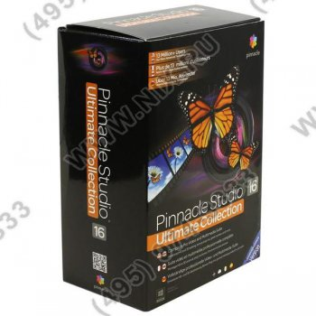 Программное обеспечение Pinnacle Systems Studio Ultimate Ver.16 RUS (BOX)