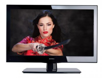 "Телевизор-LCD 24"" Supra S-LC2477FLD черный FULL HD DVD (RUS)"