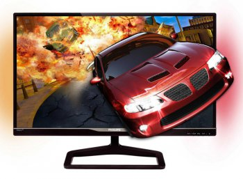 "Монитор 27"" Philips 278G4DHSD/01 Black Cherry IPS LED 14ms 16:9 2xHDMI 3D 10M:1 250cd USB 3D Glasses"