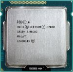 Процессор Intel Pentium G2020 2.9 ГГц / 2core / SVGA HD Graphics / 0.5+3Мб / 55 Вт / 5 ГТ / с LGA1155