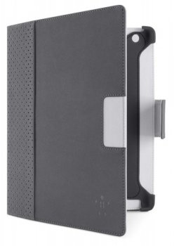 Чехол Belkin для iPad3/iPad2 CASE,FOLIO,PE/PU,NEW iPAD,SLIM,GRVL/OVRCST0F8N773cwC02