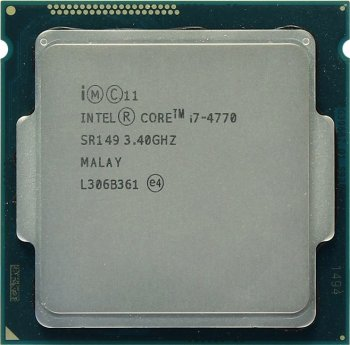 Процессор Intel Core i7-4770 3.4 ГГц/4core/SVGA HD Graphics 4600/1+8Мб/84 Вт/5 ГТ/с LGA1150