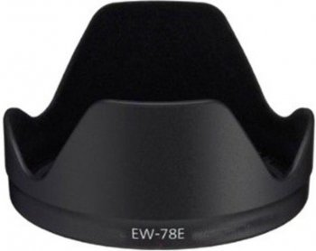 Бленда EW-78E Plastic Lens Hood for Canon EF-S 15-85 f/3.5-5.6 IS USM