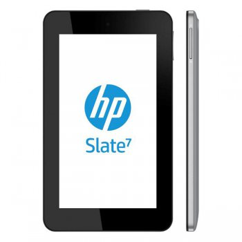 "Планшетный компьютер HP Slate 7 A9/RAM1Gb/ROM8Gb/7"" 1024*600/WiFi/BT/3Mp/And4.1/silver/minUSB/5hrs"