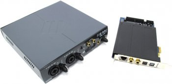Звуковая карта E-MU 1616M PCIE (RTL) (Analog 6in / 6out, ADAT 8in / 8out, S / PDIF 2in / 2out, MIDI 2in / 2out, 24Bit / 192kHz, PCI-Ex1)