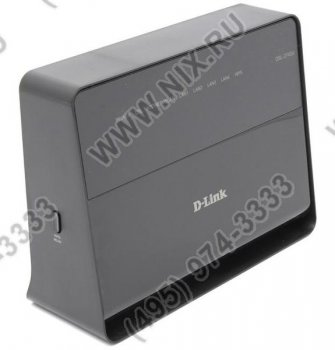 Маршрутизатор ADSL D-Link <DSL-2740U /B1A/T1A> Wireless N ADSL2+ Modem Router (4UTP 10/100Mbps, 802.11b/g/n)