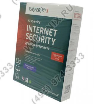 Программное обеспечение Kaspersky Internet Security Multi-Device Russian Edition. 5-Device 1 year Base Box
