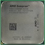 Процессор AMD SEMPRON 130 (SDX130H) 2.6 GHz/1core/ 512K/45W/ 4000MHz Socket AM3