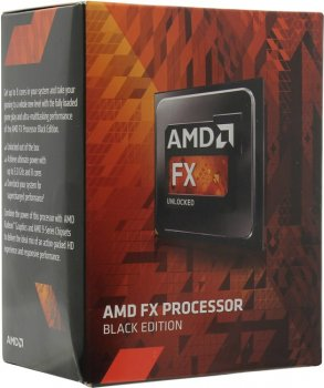 Процессор AMD FX-4300 BOX Black Edition (FD4300W) 3.8 ГГц/4core/ 4+4Мб/95 Вт/5200 МГц Socket AM3+