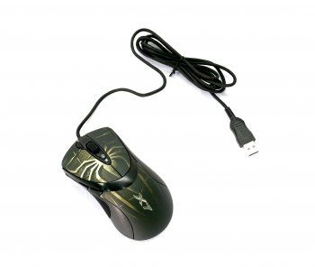 *Мышь A4-Tech Game Laser Mouse < XL-747H-Brown> (3600dpi) (RTL) USB 7but+Roll (б/у)