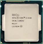 Процессор Intel Core i3-4340 BOX 3.6 ГГц/2core/SVGA HD Graphics 4600/0.5+4Мб/54 Вт/5 ГТ/с LGA1150
