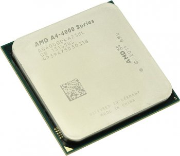Процессор AMD A4-4000 (AD4000O) 3.0 GHz/2core/SVGA RADEON HD 7480D/ 1 Мб/65W/5 GT/s Socket FM2