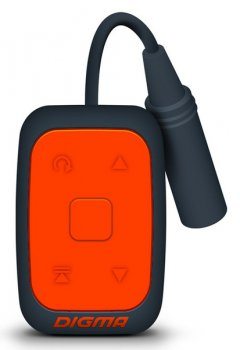 Плеер MP3 Digma Deep 4Gb Orange WMA