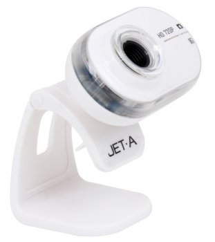 ВЕБ-камера Jet.A JA-WC8 White HD Ready, USB 2.0, CMOS сенсор 1/6