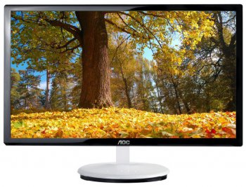 "Монитор 23"" AOC E2343F/01 White/Glossy-Black FullHD LED 5ms 16:9 DVI 50M:1 250cd"
