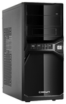 Системный блок (ATX 400W/Intel Core i3-3210 3.2Ghz/H61/DDR III 4GB/HDD 500GB/DVD-RW/Win7 HB) (278964)