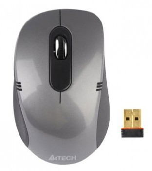 Мышь беспроводная A4-Tech Tech G7-630D-2 Glossy Grey Holeless Wireless USB