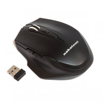 Мышь беспроводная Nakatomi Navigator Optical Mouse <MRON-10U> (RTL) USB 5btn+Roll,