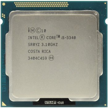 Процессор Intel Core i5-3340 3.1 GHz/4core/SVGA HD Graphics 2500/1+6Mb/77W/5 GT/s LGA1155