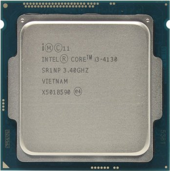Процессор Intel Core i3-4130 BOX 3.4 ГГц/2core/SVGA HD Graphics 4400/0.5+3Мб/65 Вт/5 ГТ/с LGA1150